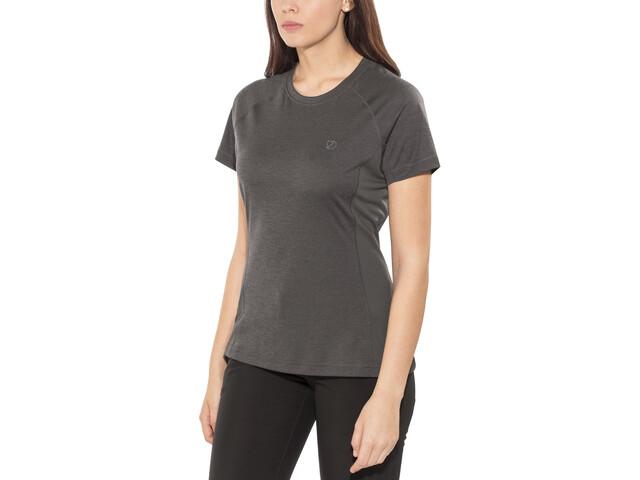 Original kaufen großer Rabatt bester Platz Fjällräven Abisko Vent T-Shirt Women dark grey